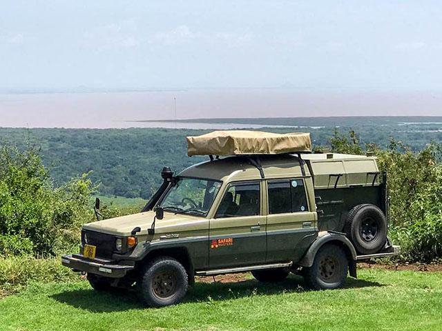 Self-drive Tanzania Land Cruiser