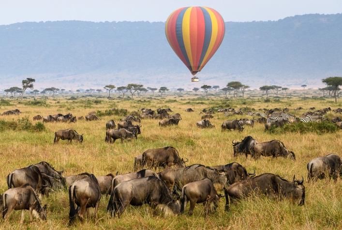 Hot Air Balloon Safari in Kenya