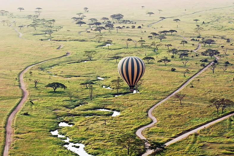 Masaimara Hot Air Ballooning Safari